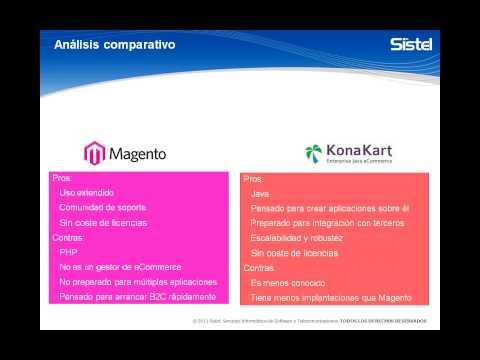 Konakart: Plataforma eCommerce Opensource