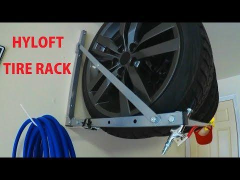 Tire Rack Install (HyLoft)