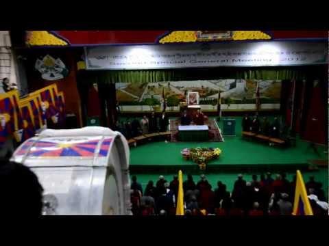 Second Tibetan special meeting Ends