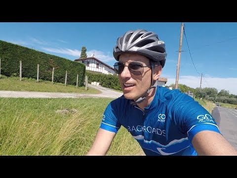 Biking St Jean de Luz to Biarritz - Basque Country
