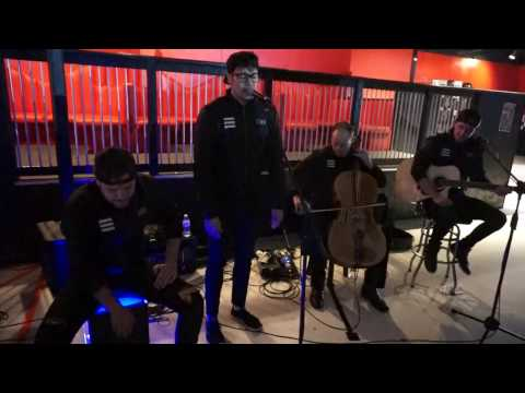Starset - Ricochet Acoustic Demonstration The Masquerade Atlanta GA 04 / 27 / 2017