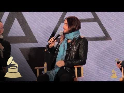 Linkin Park, 30 Seconds To Mars Discuss Carnivores Tour | GRAMMYs