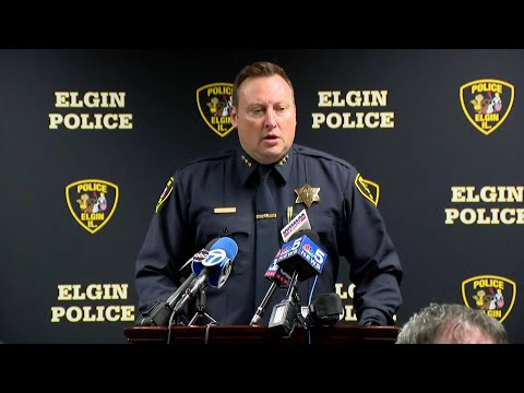 Elgin Police Discuss Officer-Involved Shooting On Jane Addams Tollway