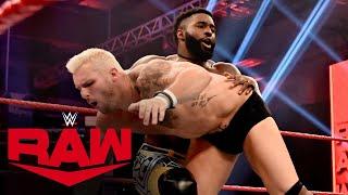 Ricochet & Cedric Alexander vs. Shane Thorne & Brendan Vink: Raw, April 20, 2020