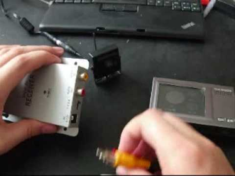 a tutorial how to connect wireless camera receiver to cam