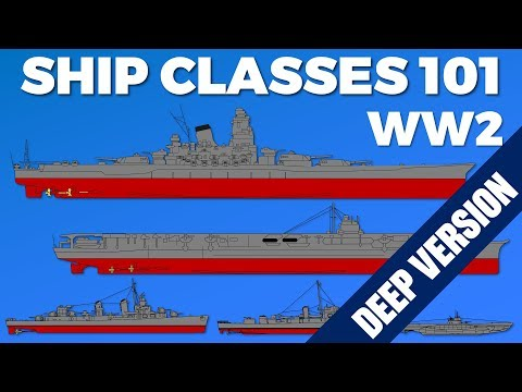 WW2 Ship Class Guide - Deep Version