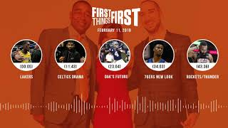 First Things First audio podcast (2.11.19)Cris Carter, Nick Wright, Jenna Wolfe | FIRST THINGS FIRST