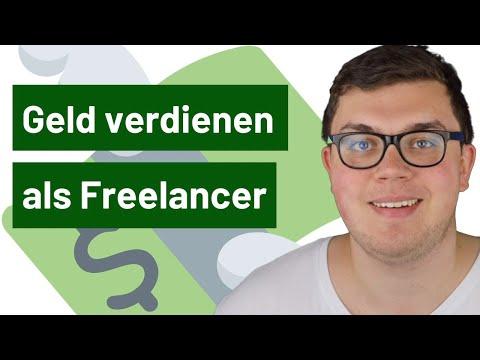 Geld verdienen als Freelancer - Fiverr, Upwork & andere Optionen