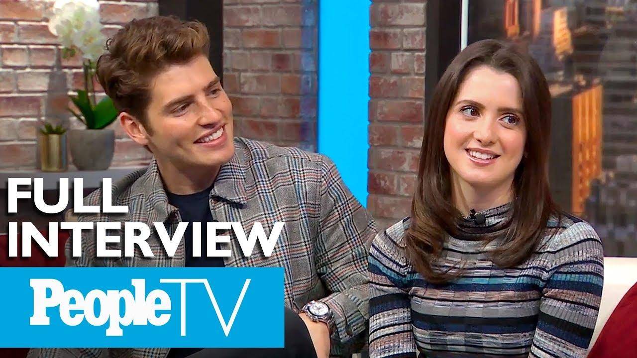 Download 'A Cinderella Story: Christmas Wish' Stars Laura Marano & Gregg Sulkin Tease Their Kiss | PeopleTV
