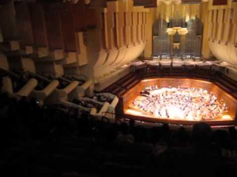 Davies Symphony Hall, San Francisco, California, November, 2012