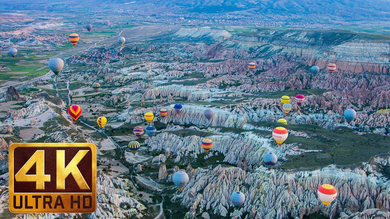 Incredible Turkey in 4K (Ultra HD) Around the World Travel Film 2017 - Episode 1 - 1 Hour