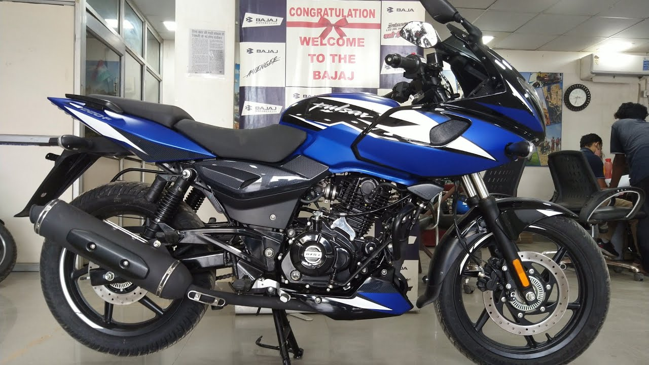 Pulsar 220F New Model 2021 Launched | Matte Blue | Price | Exhaust Sound | New Features Details