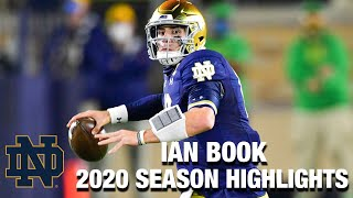 Notre Dame QB Ian Book's 2020 Regular Season Highlights