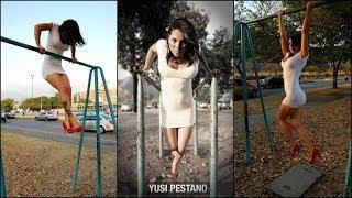 Yusi Pestano es la precursora de la mujer sobre las barras en Venezuela