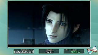 Questing for Glory 2: Crisis Core: Final Fantasy VII No Cursed Ring% by rinimt
