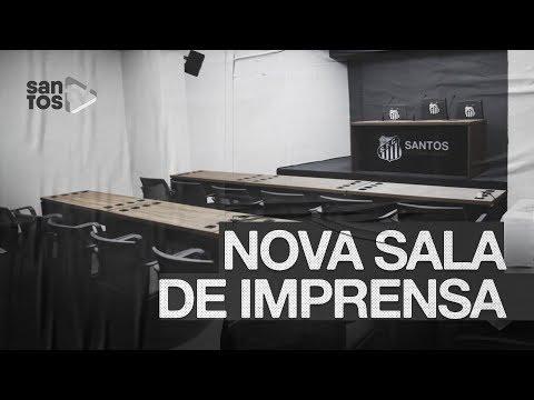 VEJA A NOVA SALA DE IMPRENSA DE VISITANTES DA VILA BELMIRO!