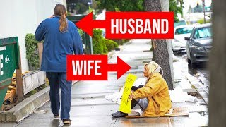 Would You Recognize Your Love Ones If They Were Homeless? (Social Experiment)