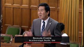 MP Shaun Chen - Speech on the Situation of the Rohingyas - Sep 26, 2017