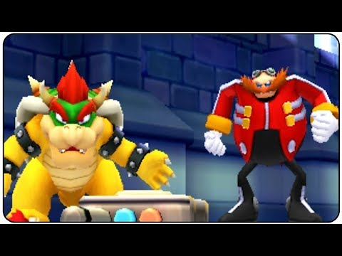 Mario & Sonic at the 2012 London Olympic Games (3DS) - All Bosses
