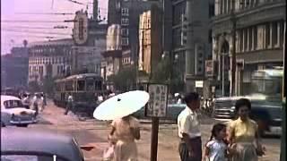 アメリカ軍が撮影した昭和31年(1956年)の東京