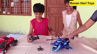 Deformation Car -Transforming Robot Toy Opening By Buvan -Toy Review