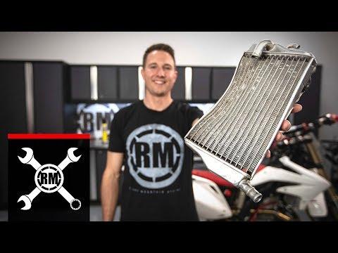 How To Straighten a Bent Dirt Bike Radiator
