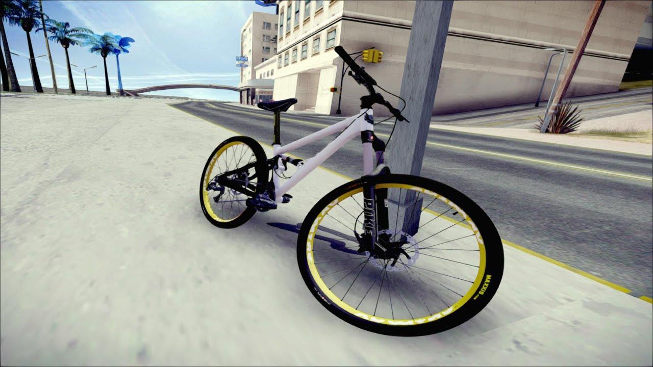 Banshee Rampant Mountain Bike Gta San Andreas Bike Mod Youtube
