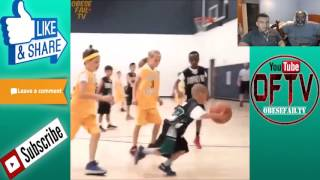 Dad Reacts to Crazy Basketball Ankle Breakers Compilation!