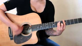 How to play One Thing by One Direction on guitar (Acoustic version)- Jen Trani