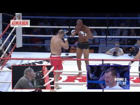Dutch Kickboxing vs Latvian Pankration ft. Medved from TFC (Igor Kostin)