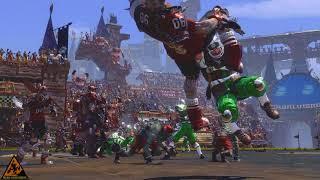 Blood Bowl 2: Legendary Edition - 4K Gameplay [American Footbal & Warhammer]