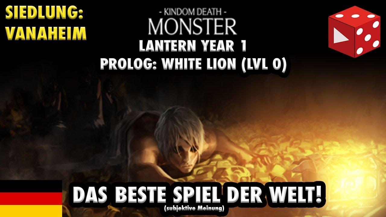 Kingdom Death: Monster ○ Vanaheim ○ LY 1 ○ Quarry: White Lion ...
