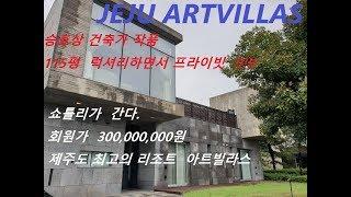 아트빌라스 제주도 최고가 3억원 럭셔리 리조트 !