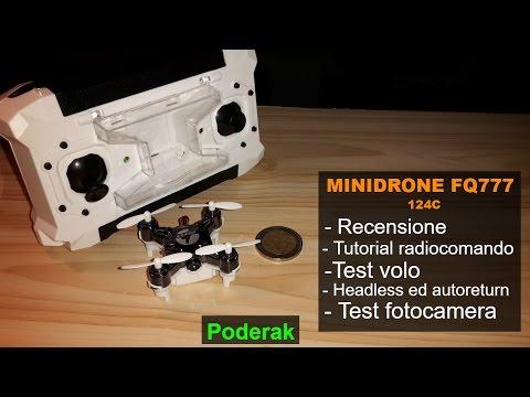 Miglior mini drone: FQ777-124C - Recensione + Test volo - ITA