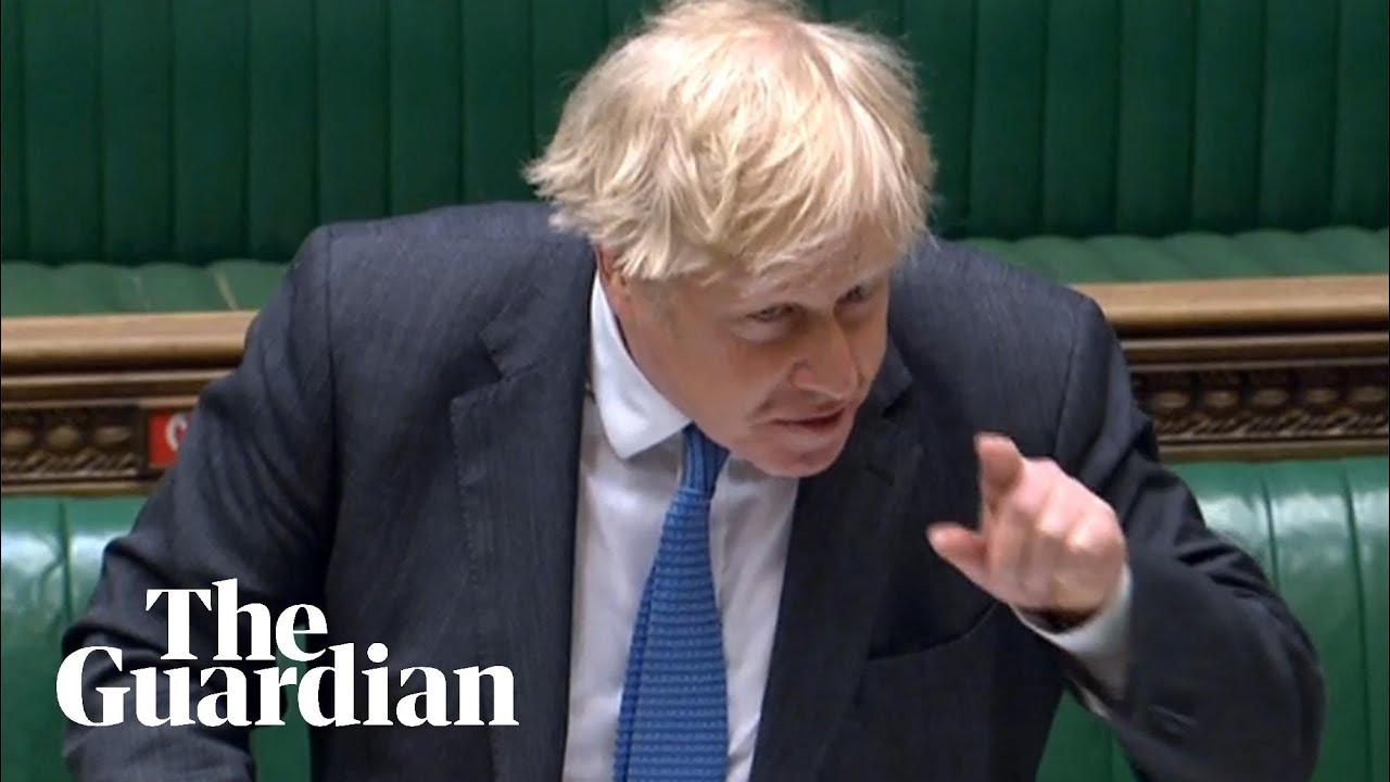 Download 'Major Sleaze': Keir Starmer attacks Boris Johnson over 'cash for curtains' row