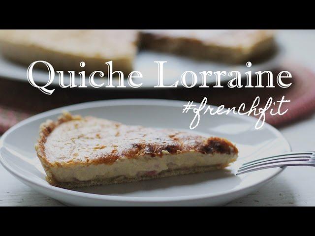 QUICHE LORRAINE versão leve | FrenchFit