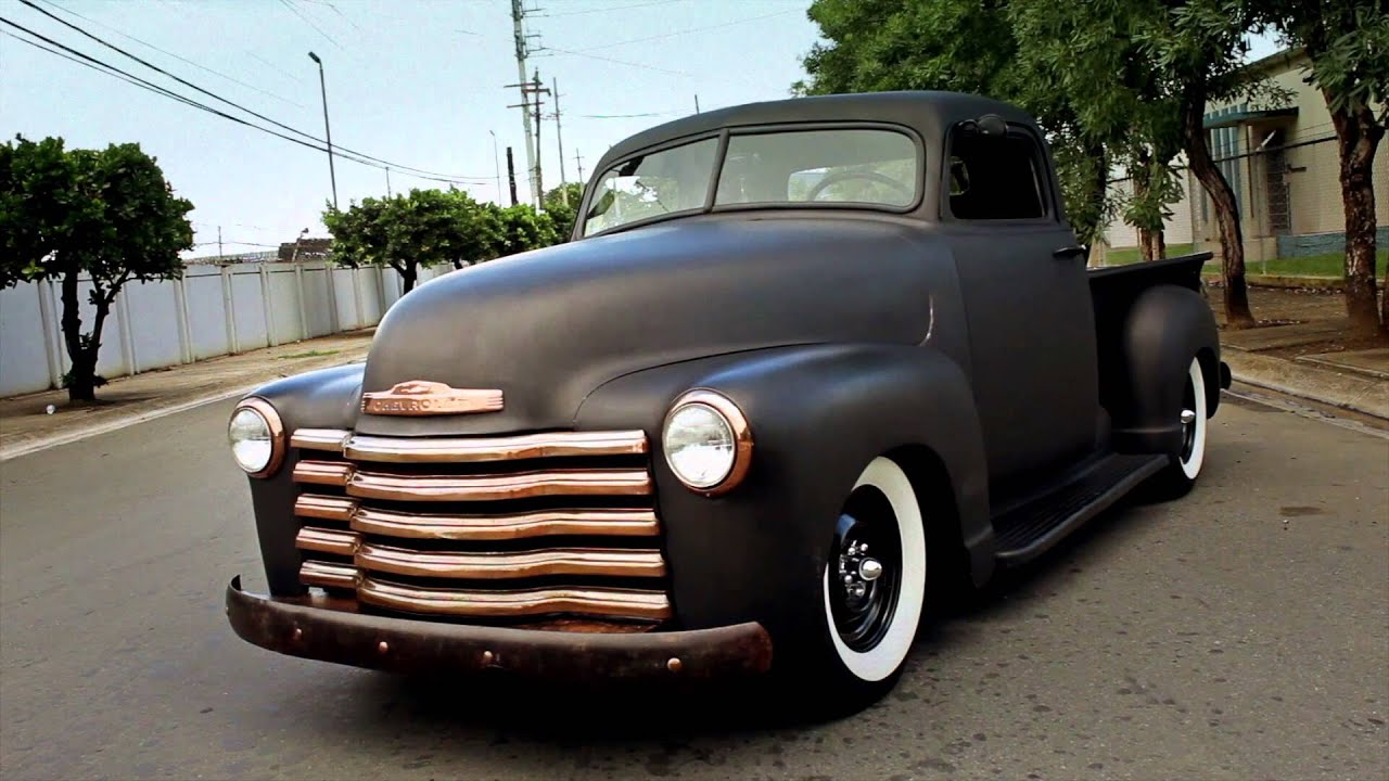 1950 Chevrolet Rat Rod Pickup with a 350ci small block