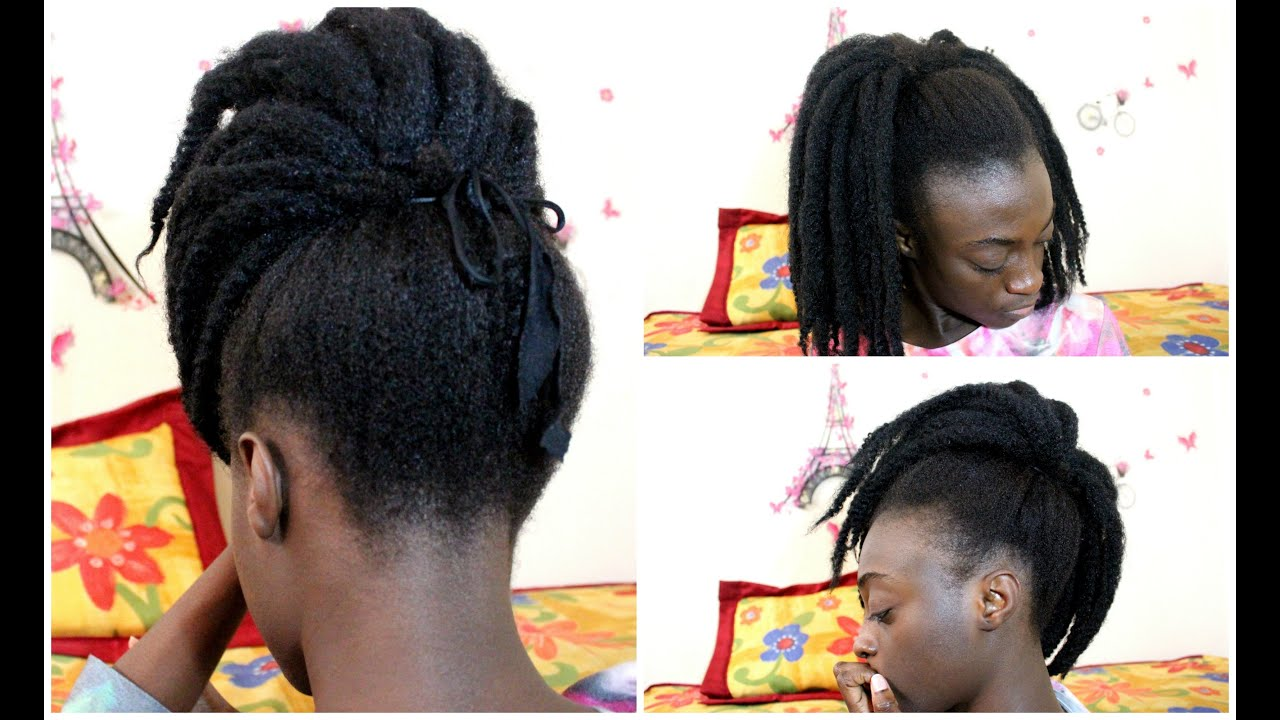 Crochet Braids Queue De Cheval : Tutoriel coiffure REaliser un crochet braid avec un effet naturel ...