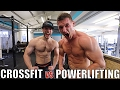 POWERLIFTER TRIES CROSSFIT   ft  Team Richey