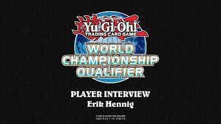 2018 WCQ: European Championship - Player Interview - Erik Hennig thumbnail