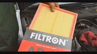видео Замена воздушного фильтра в двигателе Ауди А6