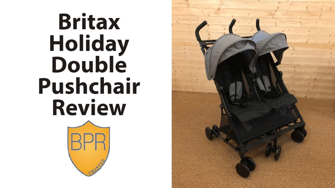 Britax Double Pushchair Reviews Britax Holiday Double Pushchair Review Buggypramreviews