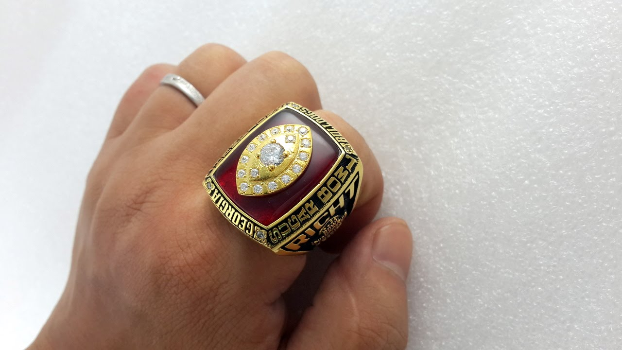 Georgia High School State Championship Rings