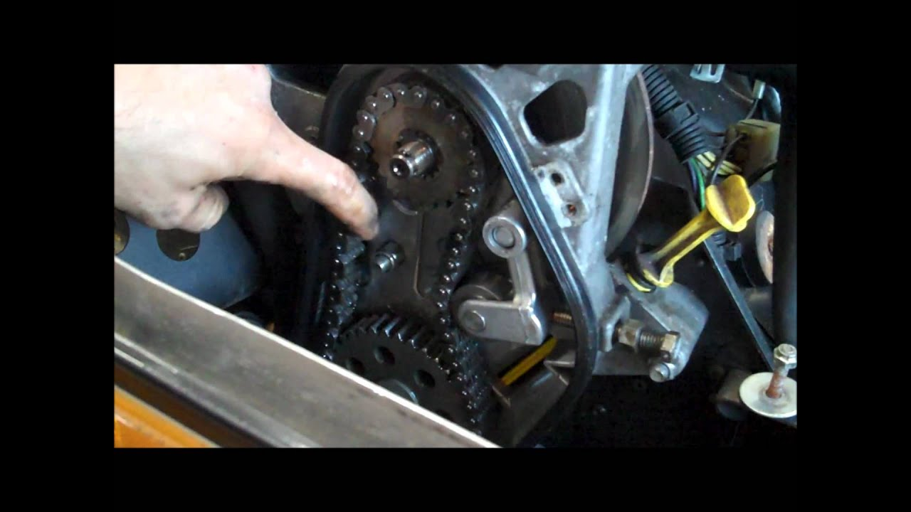 medium resolution of how to check and adjust chain tension snowmobile