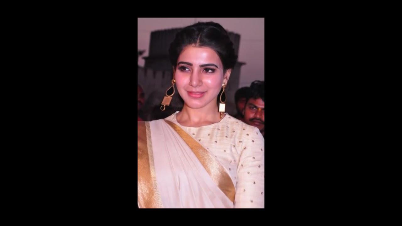 samantha white saree latest hd images | samantha cute | samantha