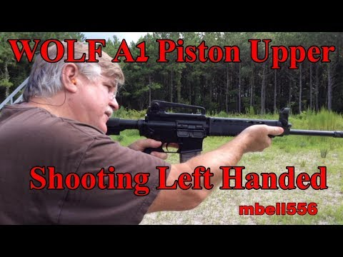 WOLF A1 (Type 91) Piston Upper: Left Hand Shooting Brass Deflection