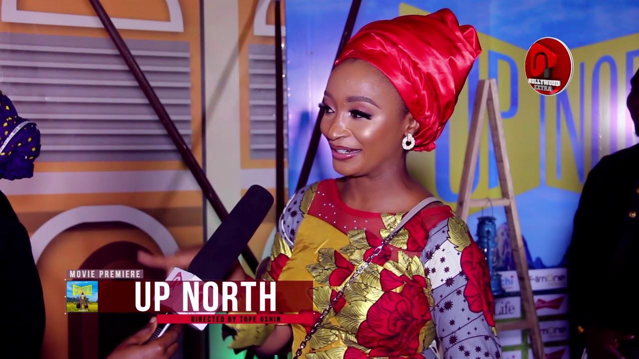 Download Rahama Sadau, Banky W, Ibrahim Suleiman, Linda Ejiofor /The premiere 'UP NORTH'