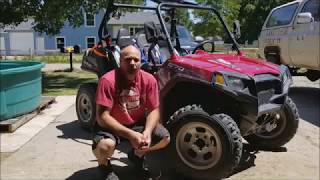2016 RZR 570 Review and upgrades