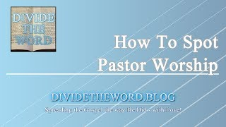 Download Video How To Spot Pastor Worship MP3 3GP MP4