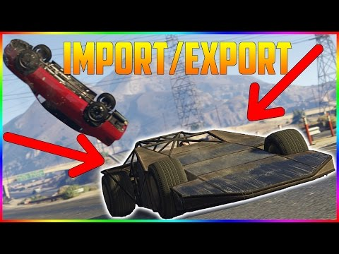 GTA V IMPORT/EXPORT DLC - PREVIEW | 25 MASINI NOI, GARAJ DE